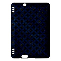 Circles3 Black Marble & Blue Grunge Kindle Fire Hdx Hardshell Case by trendistuff