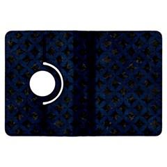Circles3 Black Marble & Blue Grunge Kindle Fire Hdx Flip 360 Case by trendistuff