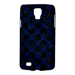 Circles2 Black Marble & Blue Grunge (r) Samsung Galaxy S4 Active (i9295) Hardshell Case by trendistuff