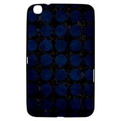 Circles1 Black Marble & Blue Grunge Samsung Galaxy Tab 3 (8 ) T3100 Hardshell Case  by trendistuff