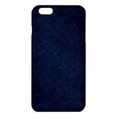 Brick2 Black Marble & Blue Grunge (r) Iphone 6 Plus/6s Plus Tpu Case