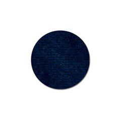 Brick1 Black Marble & Blue Grunge (r) Golf Ball Marker by trendistuff