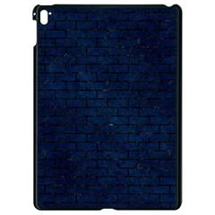 Brick1 Black Marble & Blue Grunge (r) Apple Ipad Pro 9 7   Black Seamless Case by trendistuff