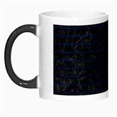 Brick1 Black Marble & Blue Grunge Morph Mug by trendistuff