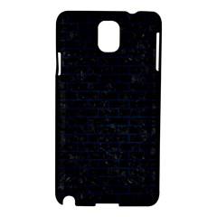 Brick1 Black Marble & Blue Grunge Samsung Galaxy Note 3 N9005 Hardshell Case by trendistuff
