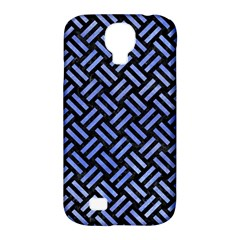 Woven2 Black Marble & Blue Watercolor Samsung Galaxy S4 Classic Hardshell Case (pc+silicone) by trendistuff