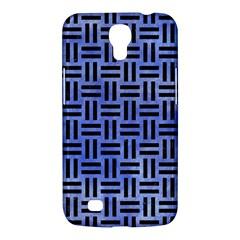 Woven1 Black Marble & Blue Watercolor (r) Samsung Galaxy Mega 6 3  I9200 Hardshell Case by trendistuff