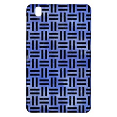 Woven1 Black Marble & Blue Watercolor (r) Samsung Galaxy Tab Pro 8 4 Hardshell Case by trendistuff