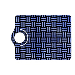 Woven1 Black Marble & Blue Watercolor Kindle Fire Hd (2013) Flip 360 Case by trendistuff
