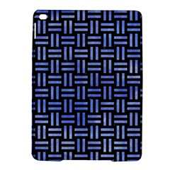 Woven1 Black Marble & Blue Watercolor Apple Ipad Air 2 Hardshell Case by trendistuff
