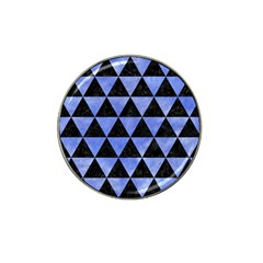 Triangle3 Black Marble & Blue Watercolor Hat Clip Ball Marker (10 Pack) by trendistuff