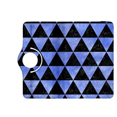 Triangle3 Black Marble & Blue Watercolor Kindle Fire Hdx 8 9  Flip 360 Case by trendistuff
