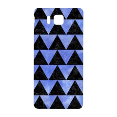 Triangle2 Black Marble & Blue Watercolor Samsung Galaxy Alpha Hardshell Back Case by trendistuff