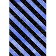 Stripes3 Black Marble & Blue Watercolor (r) 5 5  X 8 5  Notebook by trendistuff