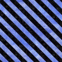 Stripes3 Black Marble & Blue Watercolor (r) Magic Photo Cube by trendistuff