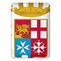 Coat Of Arms Of The Italian Navy  Kindle Fire Hdx Hardshell Case by abbeyz71