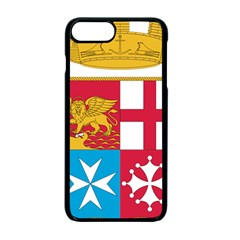 Coat Of Arms Of The Italian Navy  Apple Iphone 7 Plus Seamless Case (black) by abbeyz71