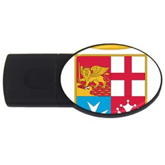 Coat Of Arms Of The Italian Navy Usb Flash Drive Oval (2 Gb) by abbeyz71