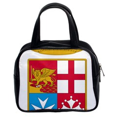 Coat Of Arms Of The Italian Navy Classic Handbags (2 Sides) by abbeyz71