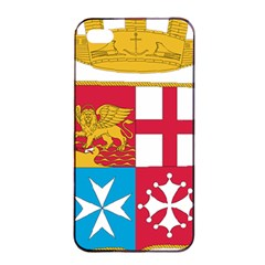 Coat Of Arms Of The Italian Navy Apple Iphone 4/4s Seamless Case (black) by abbeyz71