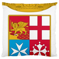 Coat Of Arms Of The Italian Navy Large Cushion Case (one Side) by abbeyz71