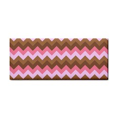 Shades Of Pink And Brown Retro Zigzag Chevron Pattern Cosmetic Storage Cases by Nexatart