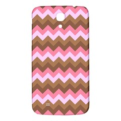 Shades Of Pink And Brown Retro Zigzag Chevron Pattern Samsung Galaxy Mega I9200 Hardshell Back Case by Nexatart