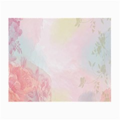 Watercolor Floral Small Glasses Cloth by Nexatart