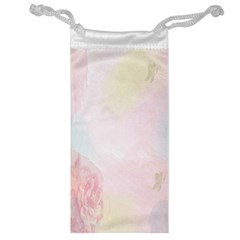 Watercolor Floral Jewelry Bag