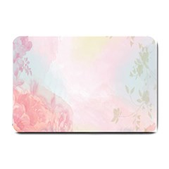 Watercolor Floral Small Doormat  by Nexatart