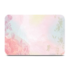 Watercolor Floral Plate Mats