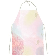 Watercolor Floral Full Print Aprons