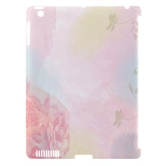 Watercolor Floral Apple Ipad 3/4 Hardshell Case (compatible With Smart Cover)