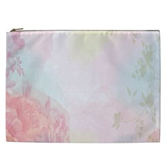 Watercolor Floral Cosmetic Bag (xxl)