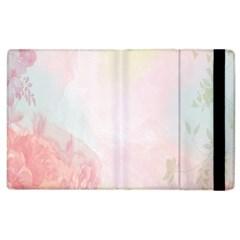 Watercolor Floral Apple Ipad 2 Flip Case by Nexatart