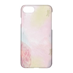 Watercolor Floral Apple Iphone 7 Hardshell Case by Nexatart