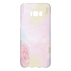 Watercolor Floral Samsung Galaxy S8 Plus Hardshell Case  by Nexatart