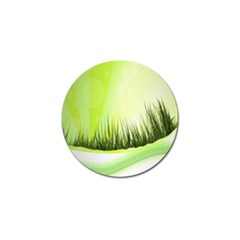 Green Background Wallpaper Texture Golf Ball Marker (4 Pack) by Nexatart