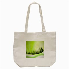 Green Background Wallpaper Texture Tote Bag (cream) by Nexatart