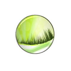 Green Background Wallpaper Texture Hat Clip Ball Marker by Nexatart