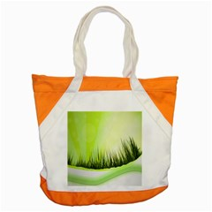Green Background Wallpaper Texture Accent Tote Bag by Nexatart