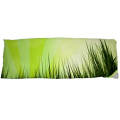 Green Background Wallpaper Texture Body Pillow Case (dakimakura)