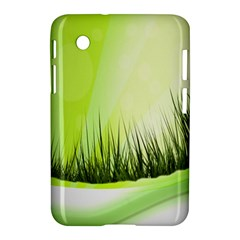Green Background Wallpaper Texture Samsung Galaxy Tab 2 (7 ) P3100 Hardshell Case