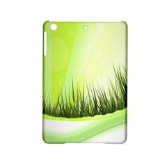 Green Background Wallpaper Texture Ipad Mini 2 Hardshell Cases
