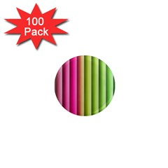 Vertical Blinds A Completely Seamless Tile Able Background 1  Mini Magnets (100 Pack)  by Nexatart