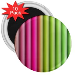 Vertical Blinds A Completely Seamless Tile Able Background 3  Magnets (10 Pack)