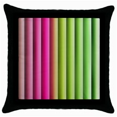 Vertical Blinds A Completely Seamless Tile Able Background Throw Pillow Case (black) by Nexatart