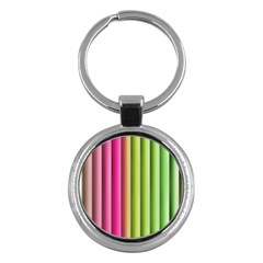 Vertical Blinds A Completely Seamless Tile Able Background Key Chains (round)