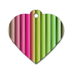 Vertical Blinds A Completely Seamless Tile Able Background Dog Tag Heart (one Side) by Nexatart