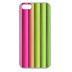 Vertical Blinds A Completely Seamless Tile Able Background Apple Seamless Iphone 5 Case (clear) by Nexatart